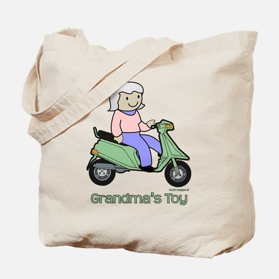 Grandma's Toy Tote Bag