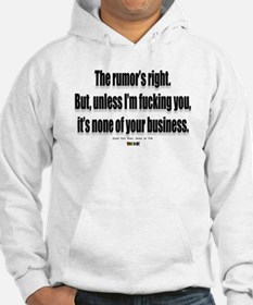 It's none of your business Hoodie