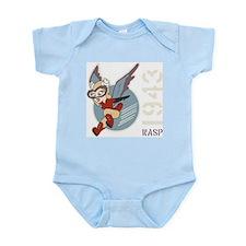 WASP - Women Airforce Service Pilots Infant Bodysu