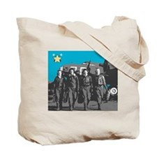 WASP Tote Bag - Pilots on side 1, Fifi on side 2