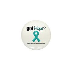 Ovarian Cancer Got Hope Mini Button (10 pack)