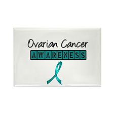Ovarian Cancer Awareness Rectangle Magnet