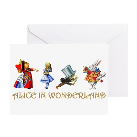 WONDERLAND Greeting Cards (Pk of 20)