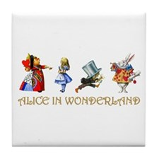 WONDERLAND Tile Coaster