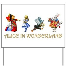 WONDERLAND Yard Sign