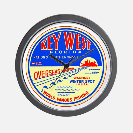 Key West, Florida Wall Clock