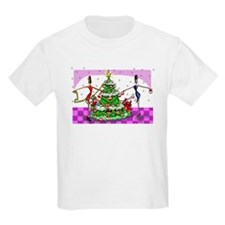 Sophisticated Holidays! Kids T-Shirt