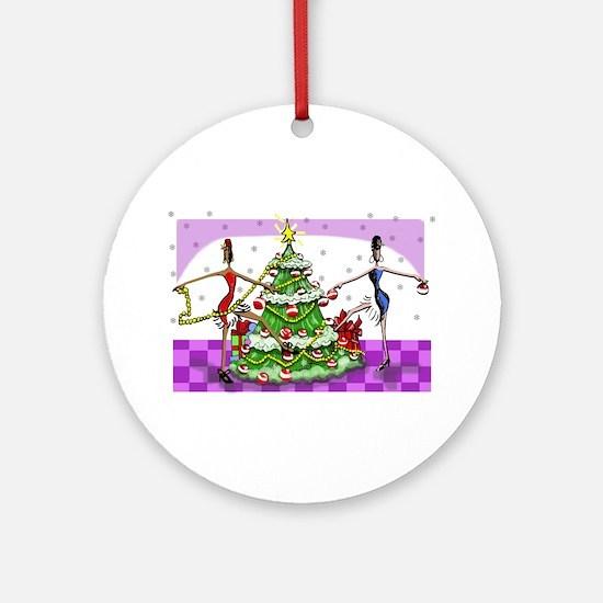 Sophisticated Holidays! Keepsake (Round)