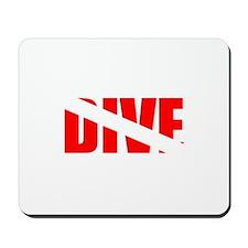 Dive Flag Mousepad