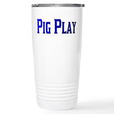 PIG PLAY/BLUES Travel Mug