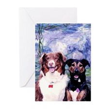 Lucky and Chili Greeting Cards (Pk of 10)