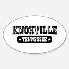 Knoxville Tennessee Oval Decal