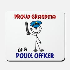 Proud Grandma 1 (Police Officer) Mousepad