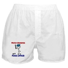 Proud Grandma 1 (Police Officer) Boxer Shorts