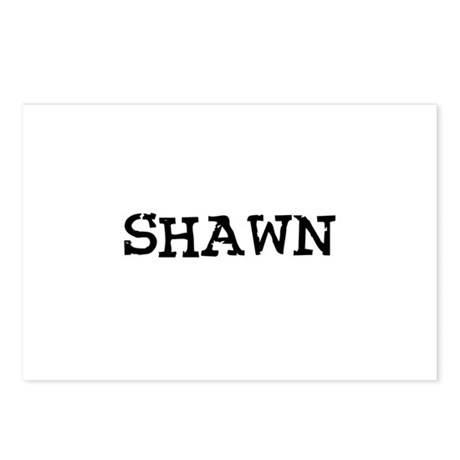 Shawn Postcards (Package of 8)