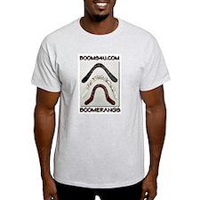 BOOMS4U shirt Ash Grey T-Shirt