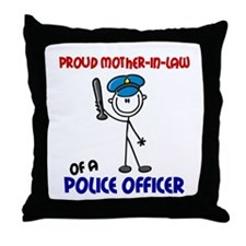 Proud Mother-In-Law 1 Throw Pillow