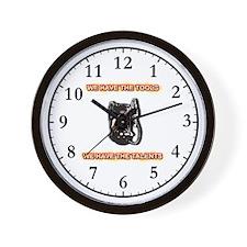 Tools and Talents Wall Clock