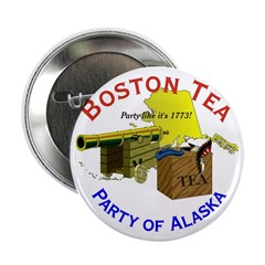 "Alaska for Men 2.25"" Button"