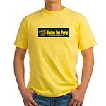 Horizontal Yellow T-Shirt