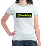 Horizontal Jr. Ringer T-Shirt