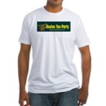Horizontal Fitted T-Shirt