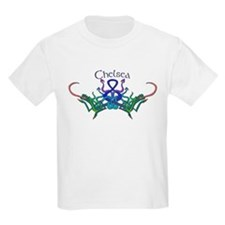 Chelsea's Celtic Dragons Name Kids T-Shirt