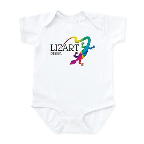 LizArt Design Logo Infant Bodysuit