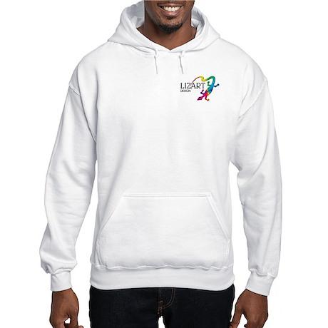 LizArt Design Pocket Logo Hooded Sweatshirt