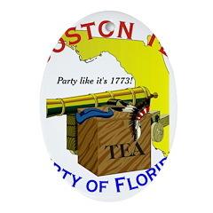 Florida Gents Oval Ornament