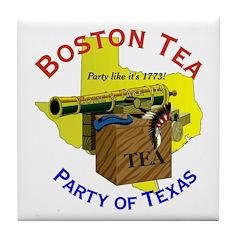 Texas Ladies Tile Coaster