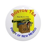New Mexico Gents Ornament (Round)