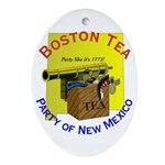 New Mexico Gents Oval Ornament