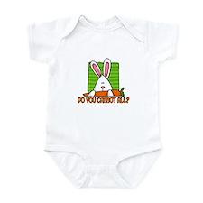 do you carrot all? Infant Bodysuit