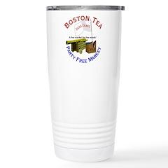 Free Marketeers Stainless Steel Travel Mug