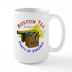 Yes, Virginia Large Mug
