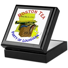 Louisiana Keepsake Box