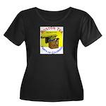 Colorado Women's Plus Size Scoop Neck Dark T-Shirt