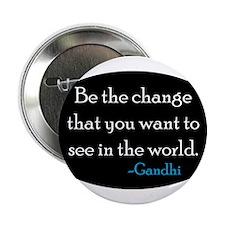 """Gandhi 2.25"""" Button"""
