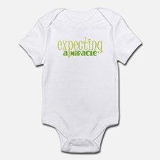 Expecting a miracle GREEN Body Suit
