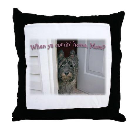 Doorway Cairn Throw Pillow