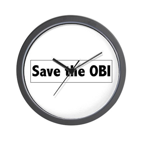 Save the OBI Wall Clock