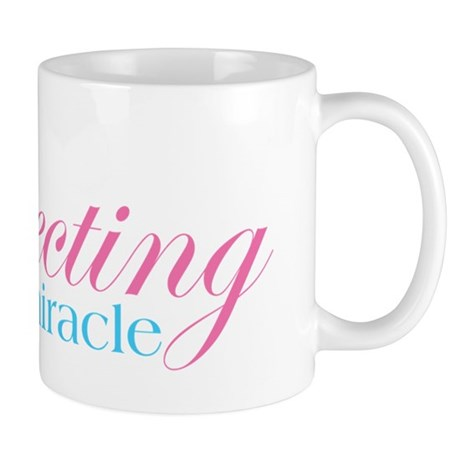 Expecting a miracle FANCY2 Mugs