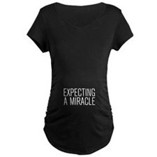 Expecting a miracle BOYS2 Maternity T-Shirt