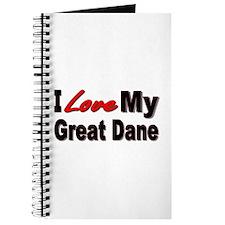 I Love My Great Dane Journal
