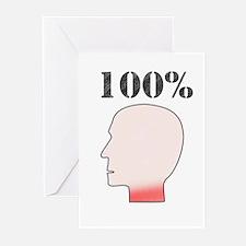 100% Redneck Greeting Cards (Pk of 10)