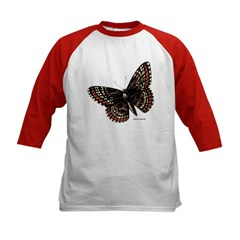 Baltimore Butterfly (Front) Kids Baseball Jersey