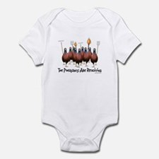Pheasants1 Infant Bodysuit