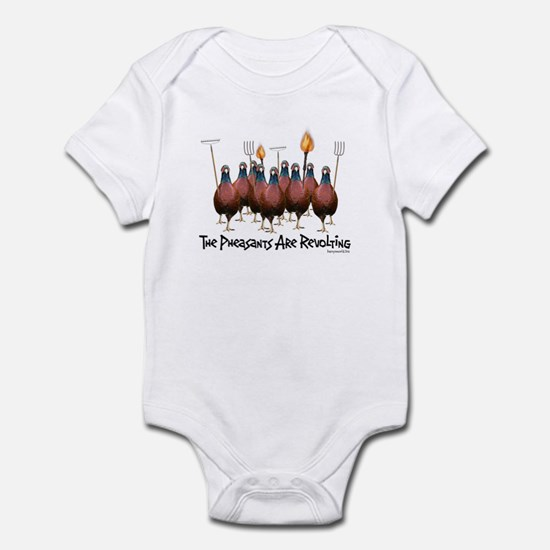 Pheasants1 Infant Bodysuit