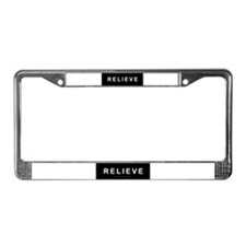 Relieve License Plate Frame